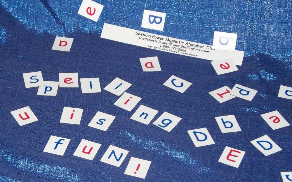 Spelling Powers Magnetic Alphabet Tiles Will Help Your Students