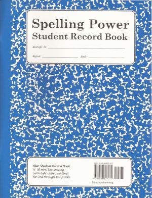 Deluxe Power pack with Blue Spelling Power Student Record Books