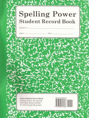 Spelling Power Starter Pack with Green Spelling Power Student Record Books