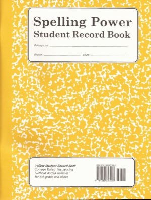Spelling Power Starter Pack with Yellow Spelling Power Student Record Books